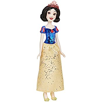 Disney Princess Royal Shimmer Snow White Doll Fashion Doll with Skirt and Accessories Toy for Kids Ages 3 and Up
