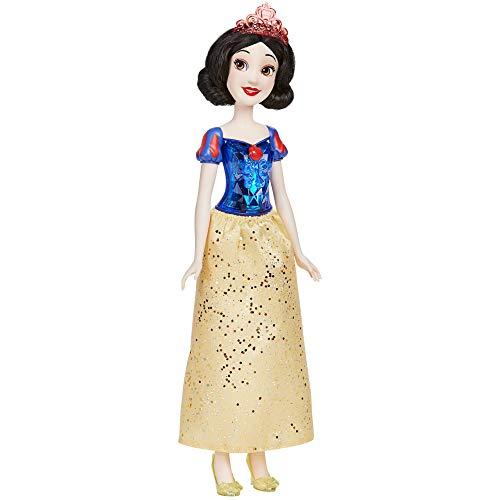 Disney Princess Muñeca de Blancanieves Royal Shimmer, muñeca con Falda y Accesorios, Juguetes para niños a Partir de 3 años