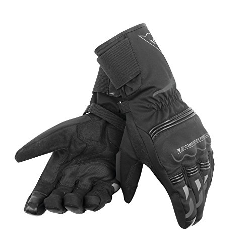 Dainese Tempest Unisex D-Dry® Long Gloves, Guantes Moto Impermeables Touring
