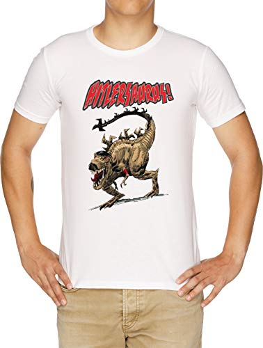 Hitlersaurus! - Monsters Herren T-Shirt Weiß