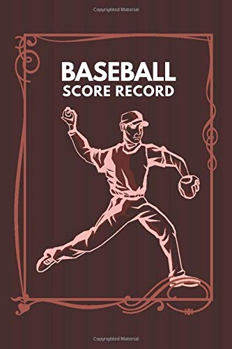 Baseball Score Record: Professional Baseball Scoring Sheet, Score Sheet Notebook for Outdoor Games, Gifts for Game Records, Game lovers, Friends and ... with 110 Pages. (Baseball Scorebook, Band 21)