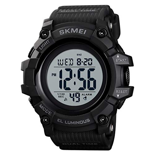 Skmei 54mm Large Case Plastic Waterproof Men Watches Fashionable Digital Sports Wristwacthes