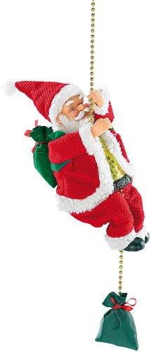 infactory Kletter Weihnachtsmann: Kletternder Weihnachtsmann Santa Crawl (Weihnachtsmann der klettert)