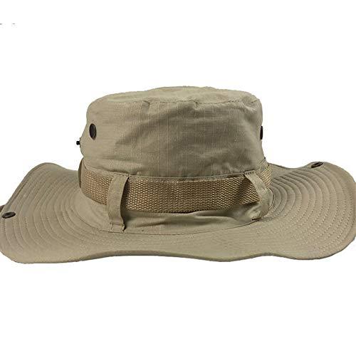 KCBYSS Western-Cowboy-Hut Europa und den Vereinigten Staaten im Freien Spielraum Sonnenblende Mode Hut Fest Farbe Big Fischer-Hut