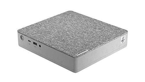Lenovo IdeaCentre Mini 5i - Ordenador de sobremesa (Intel Core i3-10100T, 8 GB de RAM, 512 GB SSD, Tarjeta gráfica Intel UHD 630, Windows 10 Pro), Color Gris