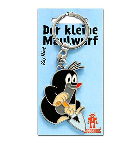 Logoshirt TV - Der kleine Maulwurf - Schaufel Schlüsselanhänger - Key-Ring - farbig - Lizenziertes Originaldesign