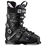 Salomon Select 80 Womens Ski Boots Black/Lavender/Belluga 9/9.5 (26/26.5)