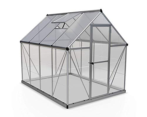 Palram Hybrid Greenhouse 6x8 Silver