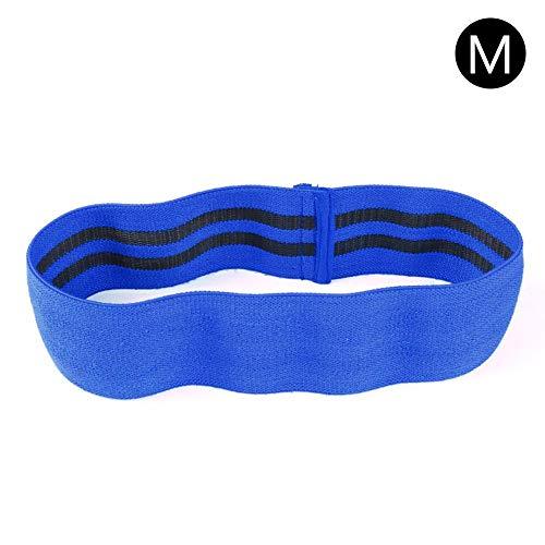 Banda de ejercicios para las piernas Muslos Glúteos Banda elástica antideslizante para ejercicios de yoga Banda botín unisex Cadera de círculo Loop Resistencia