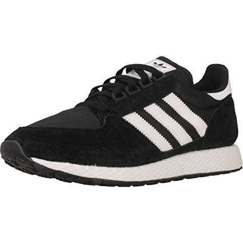 adidas Forest Grove, Zapatillas de Gimnasia Hombre, Negro (Core Black/FTWR White/Core Black Core Black/FTWR White/Core Black), 44 2/3 EU