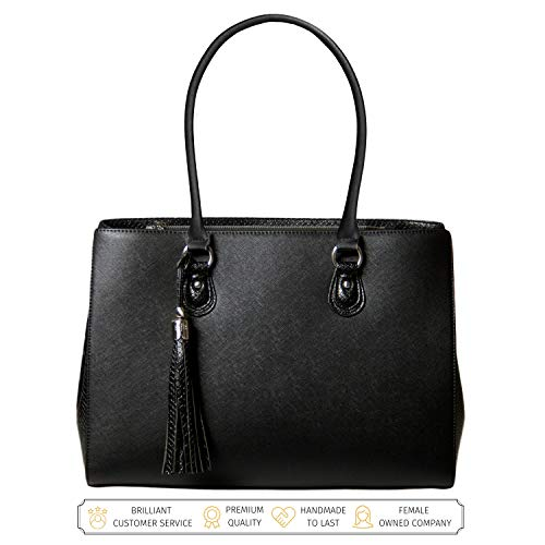 Laptop Tote Bag for Women - Luxury Designer Computer Bag -...
