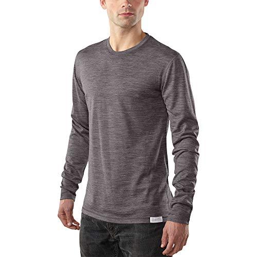 Woolly Clothing Men's Merino Wool Long Sleeve