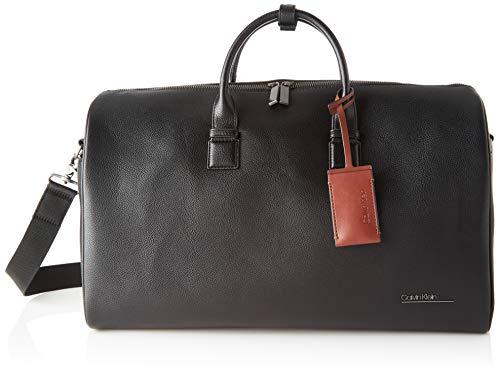 Calvin Klein Herren Ck BOMBE' Weekender Rucksack Schwarz (Blackwhite Black)