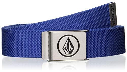 Volcom Men's Circle Web Belt, heather grey, One Size