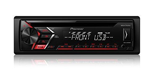 Pioneer DEH-S1000UB CD Single DIN Car Stereo Receiver