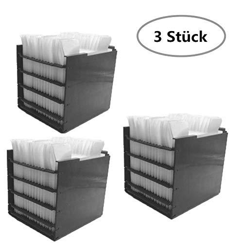 10 STK Air Ersatzfilter, Filter Ersatz, Cooler Filter, Mini Luftkühler Ventilator Air Mini Cooler Mobil Klimageräte Ersatzteile