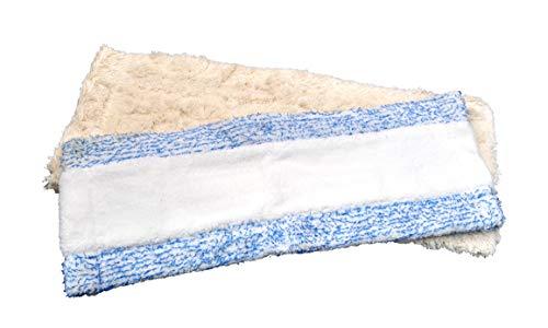 FSProdukte Bodentuch Set WEISSEXTREM und BLAUEXTREM 42 cm geeignet Hara Leifheit und andere