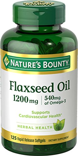 Flaxseed Oil and Omega 3 by Nature