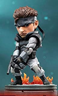 """Dark Horse First 4 Figures F4F Metal Gear Solid Snake 8"""" PVC SD Figure Statue"""