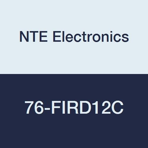 NTE Electronics 76-FIRD12C Brass Max 49% OFF Terminal Re Special price Insulated PVC Fully