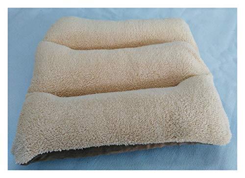 Hunde Kennel Plüsch Hundematratze Welpen-Katze-Schlafenauflage-Winter-warme Haustier-Bett-Matte verdicken Fleece Große Hunde Kissen Blanket (Color : C, Size : L 100x60cm)