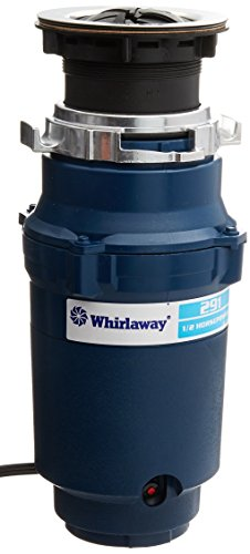 Whirlaway 291 1/2 Horsepower Garbage Disposer with Power Cord, Blue
