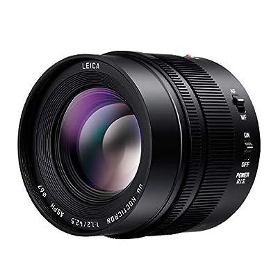 Panasonic Lumix G Leica Dg Nocticron Lens, 42.5mm, F1.2 Asph., Professional Mirrorless Micro Four Thirds, Power Optical I.s., H-ns043 (usa Black) from Panasonic