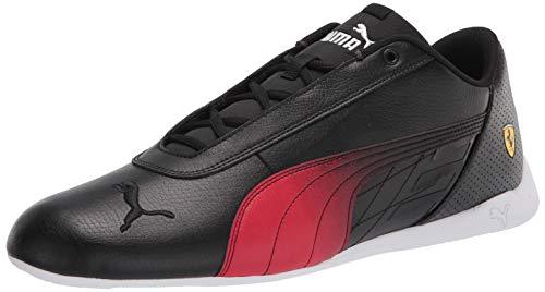 PUMA Ferrari R-Cat, Zapatillas Hombre, Black Rosso Corsa, 36 EU