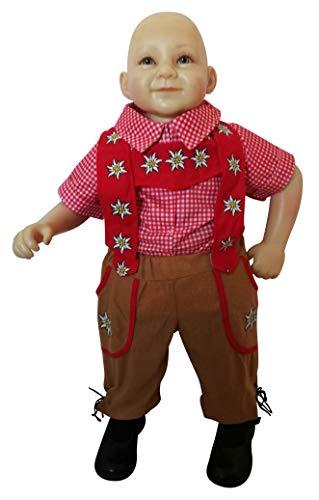 Ikumaal Oktoberfest-Kostüm Bayer, F120 Gr. 98-104, Kinder-Kostüm, traditionelles Bayern-Kostüm für Kinder, Fasching Karneval, Klein-Kind Karnevalskostüme, Kinder-Faschingskostüme, Weihnachts-Geschenk