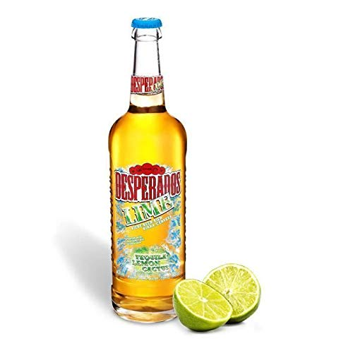 Desperados Lime Bière Aromatisée Tequila Citron Citron Vert Cactus, 650ml