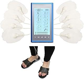 HealthmateForever 12 modos electroterapia dolor de espalda alivio masaje eléctrico mano celebrada Massager sistema de pantalla táctil multicolor