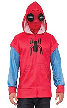 Rubie s Spider-Man  Homecoming Adult Homemade Suit Costume Hoodie X-Large