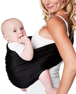 Hotslings Adjustable Pouch Baby Sling, Black, Large Color: Black Size: Large NewBorn, Kid, Child, Childern, Infant, Baby