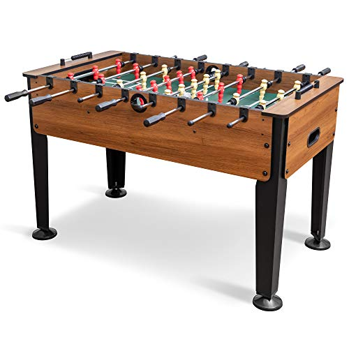 EastPoint Sports Classic Sport Official Size Indoor Newcastle Pro Foosball Table - Quick-Snap Construction, Classic Sport Newcastle Pro Foosball Table (1-1-35044-DS)