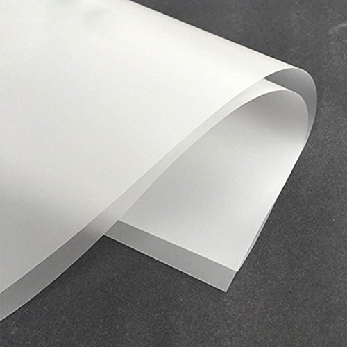 Freedi 20 Pcs Half Clear Flower Wrapping Paper Waterproof Mist Material Gift Craft Packing Paper Tool Handmade Material Decor for Home Packaging Gift Bouquet