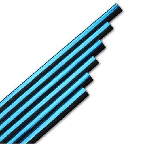 ZHANGERDAN Línea de decoración de ventilación de aire de tiras de moldura interior de coche.Para Ford Focus 2 3 Fiesta Mondeo.Para Skoda Octavia Rapid Fabia