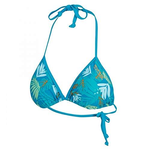 Regatta Aceana - Haut de Maillot de Bain - Femme (FR 40) (Vert Tropique Imprime)