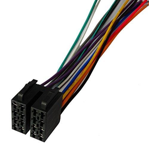 Aerzetix - connector ISO 13 PIN 8 + 5 voorbekabelde autoradio