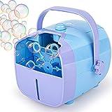 1byone Automatic Bubble Blower Machine for Kids, 2000 Bubbles per Minute, Portable for...
