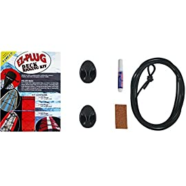Surfco ez-plug decking rigging kit 17 comes in 2-count, 4-count, or 6-count quick and super easy to install add deck rigging to any paddleboard