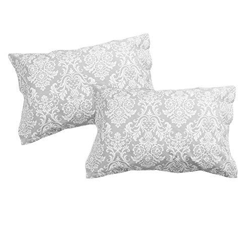 SoulBedroom Rococo 100% Baumwolle 2er Set Kissenbezüge 50x90 cm