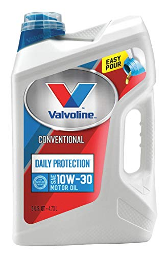 Valvoline Conventional Engine Oil, 5 qt. Jug, SAE...
