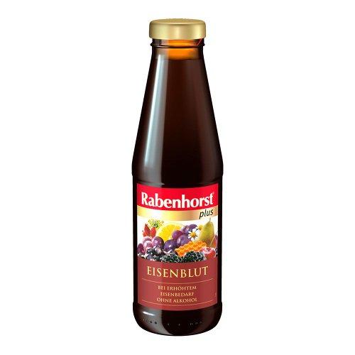 Rabenhorst plus Eisenblut Saft bei erhöhtem Eisenbedarf, 450 ml Lösung