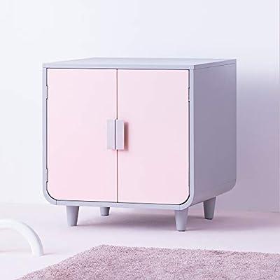Staart - Dyad Wooden Cat Litter Box - Chablis Pink