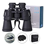 Binoculars, Lachesis 20X50 Binoculars Hd Compact Telescope Waterproof Binoculars for Bird Watching, Hiking, Hunting, Wildlife Viewing, Sightseeing, with Lens Caps, Cleaning Cloth and Carrying Bag