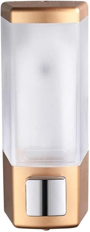 YSXZM Wall Japan Maker New Mounted Soap Dispenser Chrome 500ml Show Gold List price Shampoo