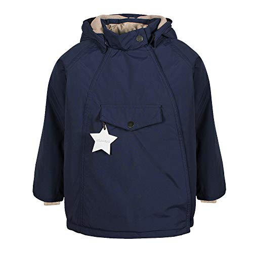 MINI A TURE Kinder Winterjacke Wang Peacoat Blue (blau), Größe:110 cm/4 J