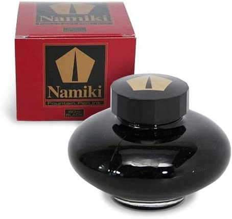 PILOT Namiki Standard Fountain Pen Ink, Black, 60ml Bottle (69200)