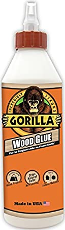 Gorilla Wood Glue, 18-ounce Bottle
