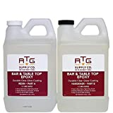 RTG Supply Co. Bar & Table Top Epoxy Resin for Bars Countertops Furniture and...